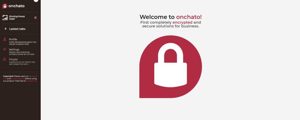 Aplikacja Onchato