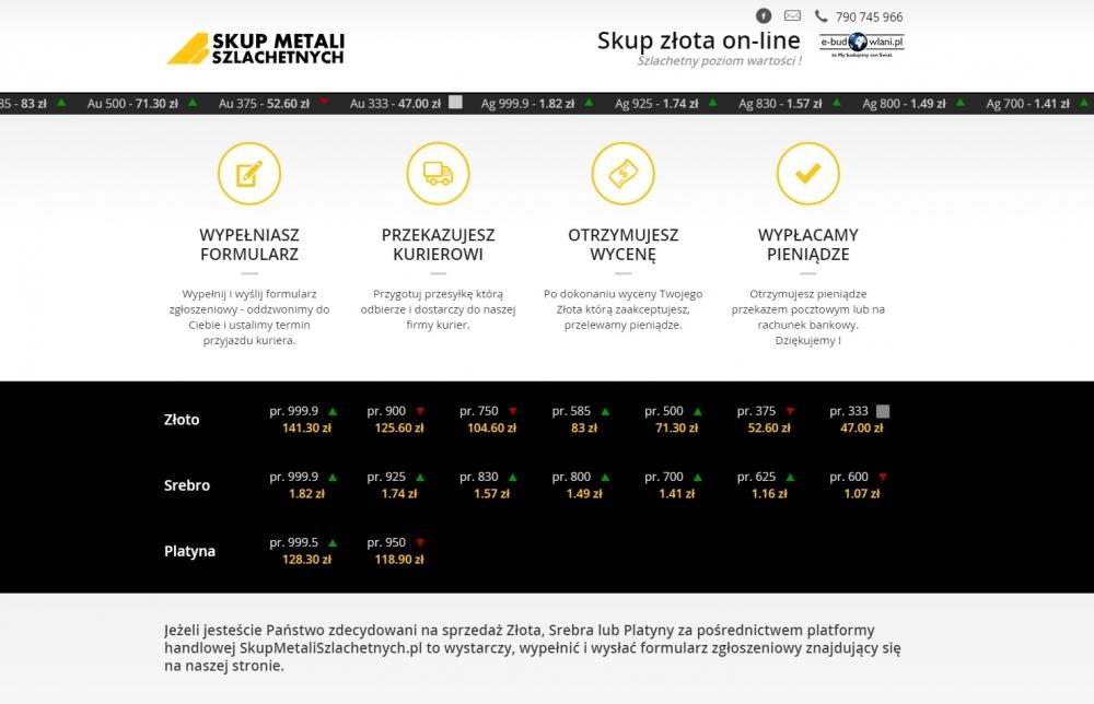 Strona główna serwisu SkupMetaliSzlachetnych.pl