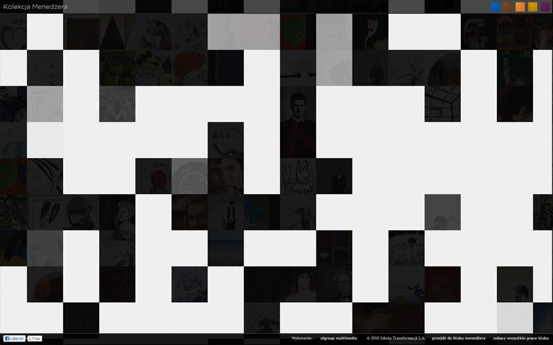 Kolekcja Menedżera - widok podczas ładowania elementów