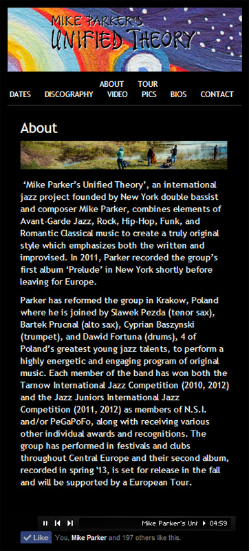Mike Parkers Unified Theory